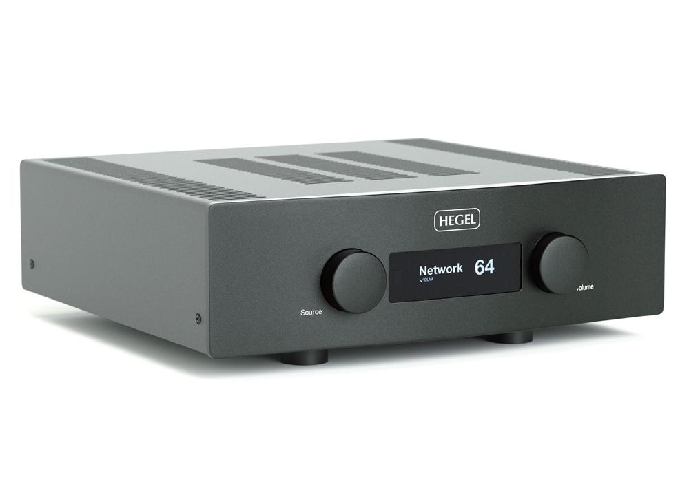 HEGEL - H390/ブラック(ネットワーク・USB/DAC内蔵インテグレーテッドアンプ)《e》【在庫有り即納】