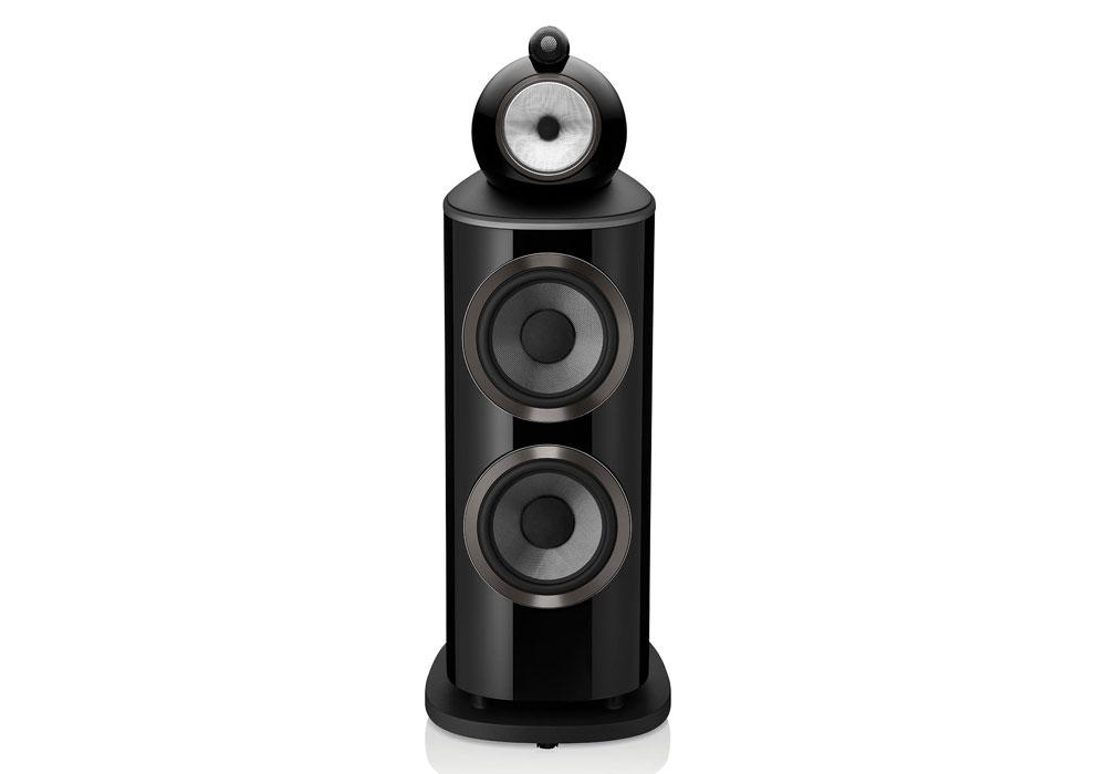 B&W - 801D4(グロスブラック)(フロアスタンドスピーカー・1本){大型DM}《e》【9月下旬発売予定・ご予約受付中】