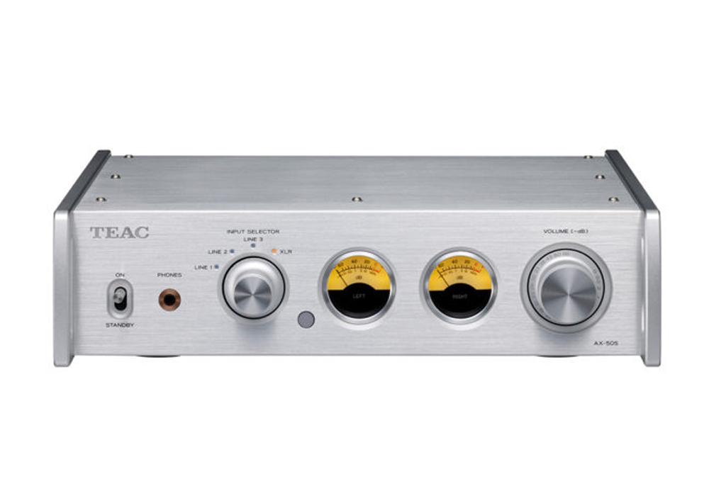 TEAC - AX-505/シルバー(プリメインアンプ)《e》【在庫有り即納】