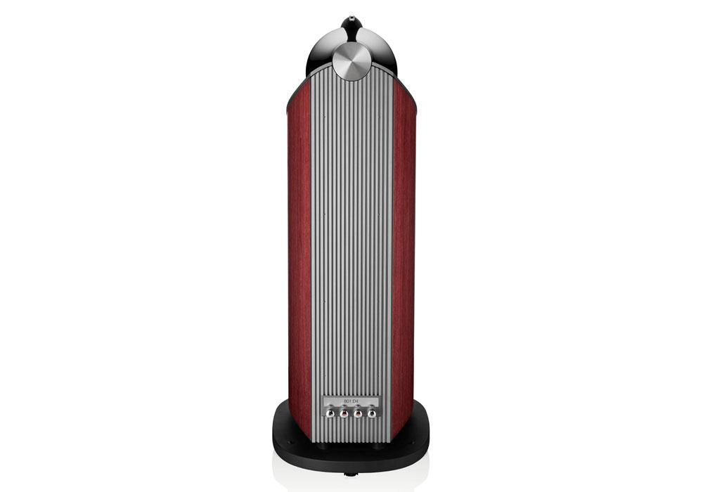 B&W - 801D4(ローズナット)(フロアスタンドスピーカー・1本){大型DM}《e》【メーカー取寄商品・納期を確認後、ご連絡いたします】
