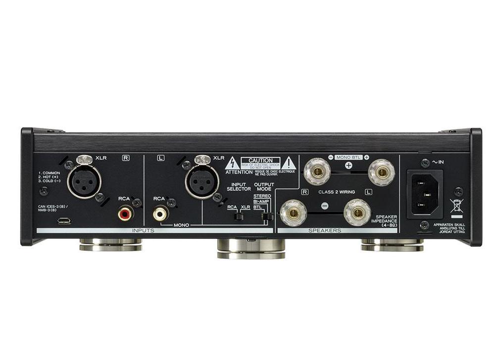 TEAC - AP-505/ブラック(パワーアンプ)《e》【在庫有り即納】