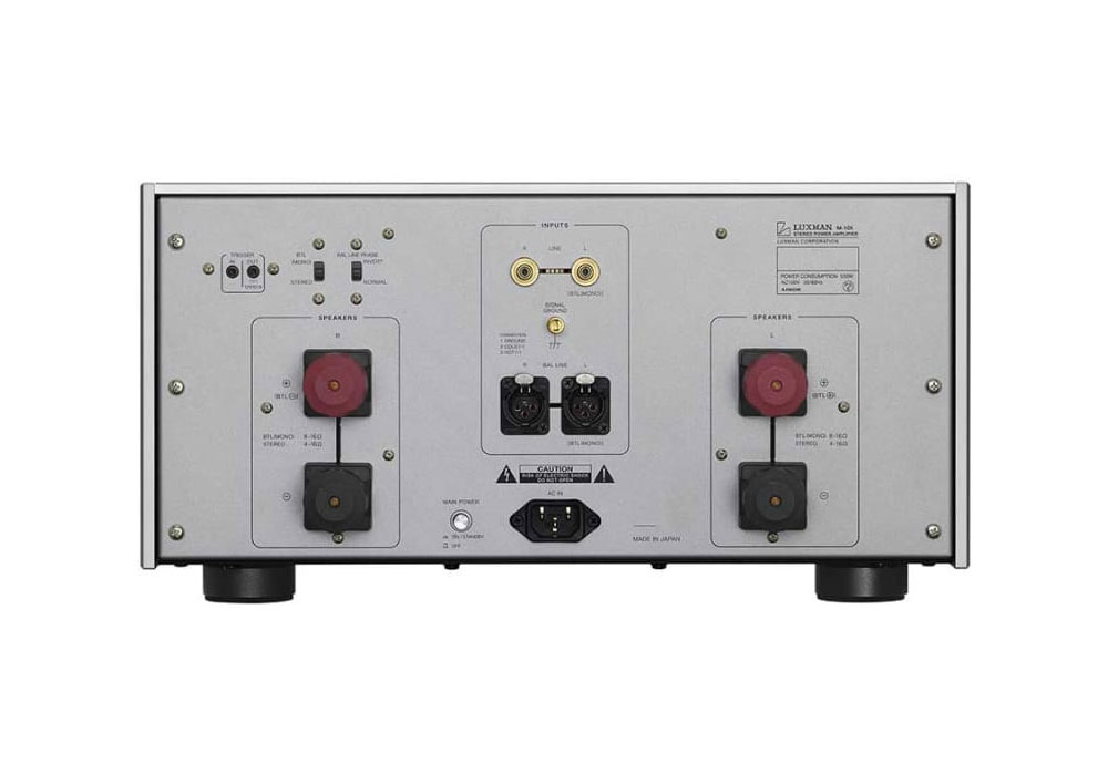 LUXMAN - M-10X(ステレオパワーアンプ){大型LUX}《e》【10月下旬発売予定・ご予約受付中】