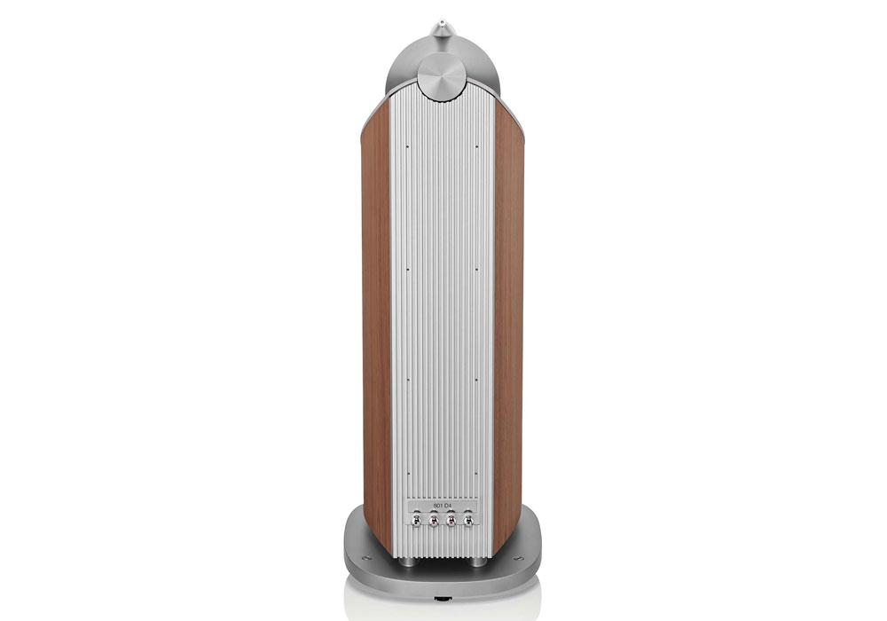 B&W - 801D4(ウォールナット)(フロアスタンドスピーカー・1本){大型DM}《e》【2022年4月発売予定・ご予約受付中】