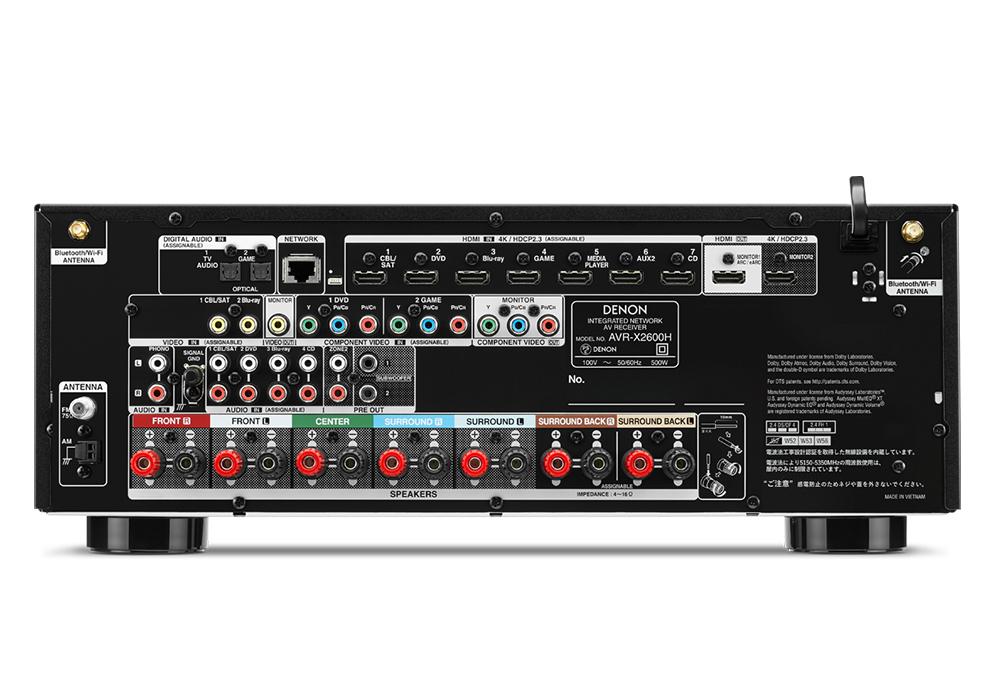 DENON - AVR-X2700H/K(7.2ch AVサラウンドレシーバー)《e》【次回3月中旬入荷予定・ご予約受付中】