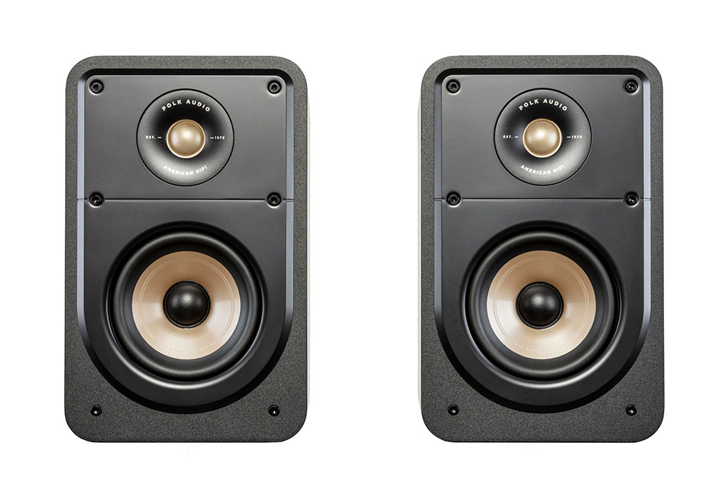 Polk Audio - ES15/BLK(ブラック・ブックシェルフスピーカー・ペア)《e》【在庫有り即納】