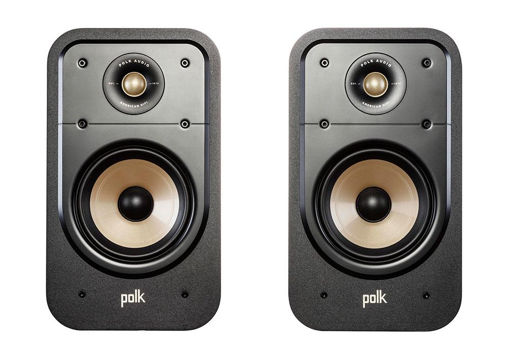 Polk Audio - ES20/BLK(ブラック・ブックシェルフスピーカー・ペア)《e》【メーカー取寄商品・3〜5営業日前後でお届け可能です※メーカー休業日除く】