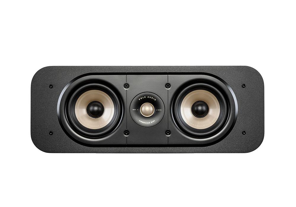 Polk Audio - ES30/BLK(ブラック・センタースピーカー・1本)《e》【メーカー取寄商品・3〜5営業日前後でお届け可能です※メーカー休業日除く】