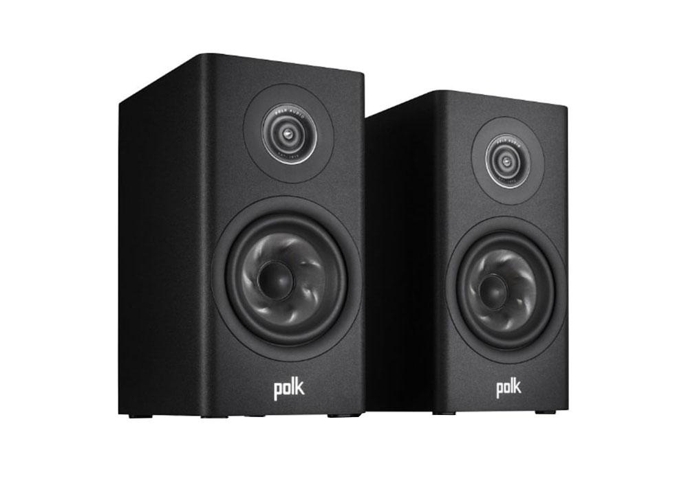 Polk Audio - R100/BLK(ブラック・ブックシェルフスピーカー・ペア)《e》【在庫有り即納】