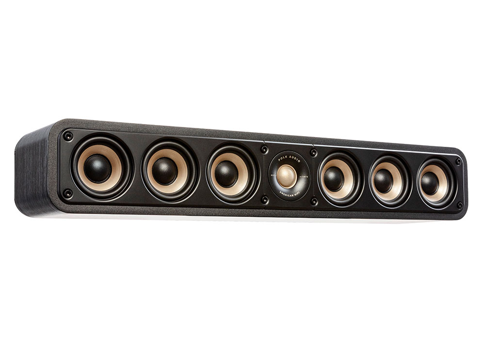 Polk Audio - ES35/BLK(ブラック・センタースピーカー・1本)《e》【メーカー取寄商品・3〜5営業日前後でお届け可能です※メーカー休業日除く】