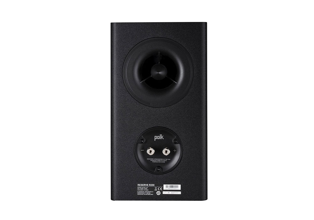 Polk Audio - R200/BLK(ブラック・ブックシェルフスピーカー・ペア)《e》【在庫有り即納】