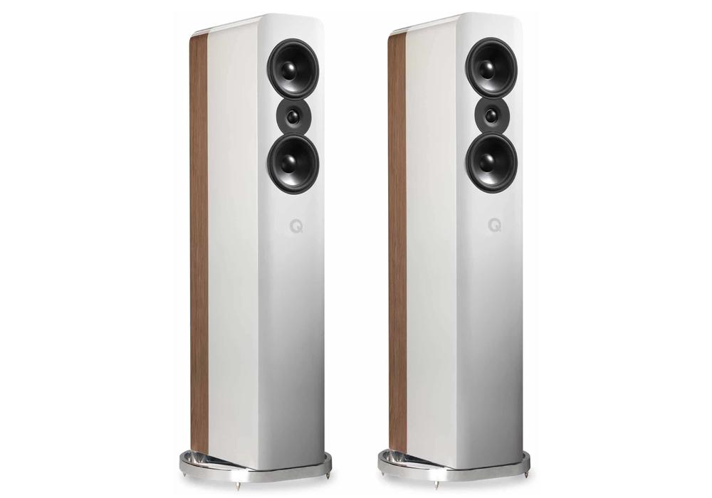 Q-Acoustics - Concept 500/ホワイト・ペールオーク(ペア)《e》【受注生産品・納期を確認後、ご連絡いたします】