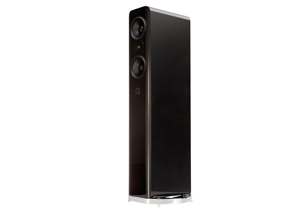 Q-Acoustics - Concept 500/グロスブラック(ペア)《e》【メーカー直送(代引不可)】【受注生産品・納期2ヶ月程かかります】