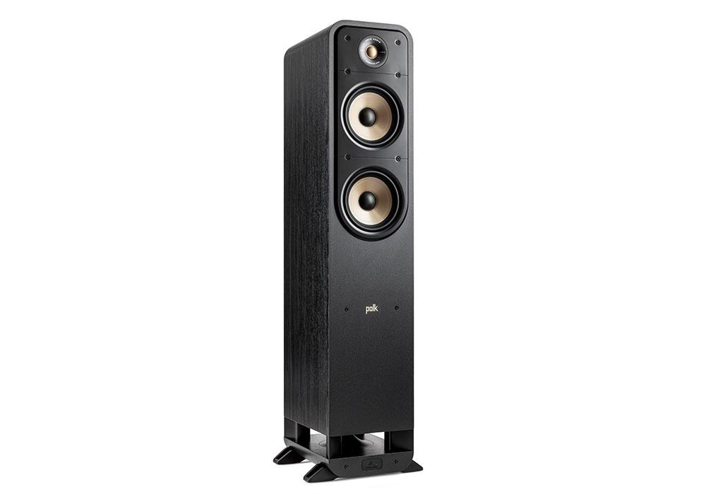 Polk Audio - ES55/BLK(ブラック・フロアスタンディングスピーカー・1本)《e》【メーカー取寄商品・3〜5営業日前後でお届け可能です※メーカー休業日除く】