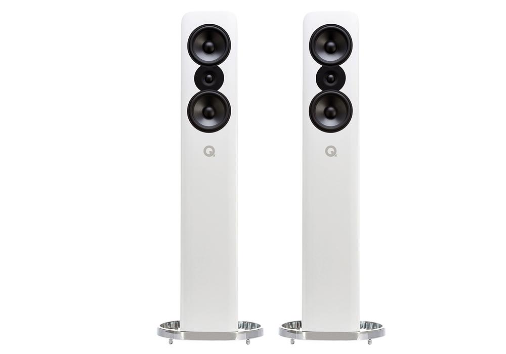 Q-Acoustics - Concept 500/グロスホワイト(ペア)《e》【メーカー直送(代引不可)】【受注生産品・納期2ヶ月程かかります】