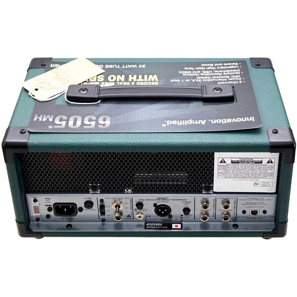 Peavey - 6505 MH Japan Edition 20W(アウトレット品)(ギターアンプミニヘッド)《e》【メーカー直送品・1〜2営業日でお届け可能です※メーカー休業日除く】