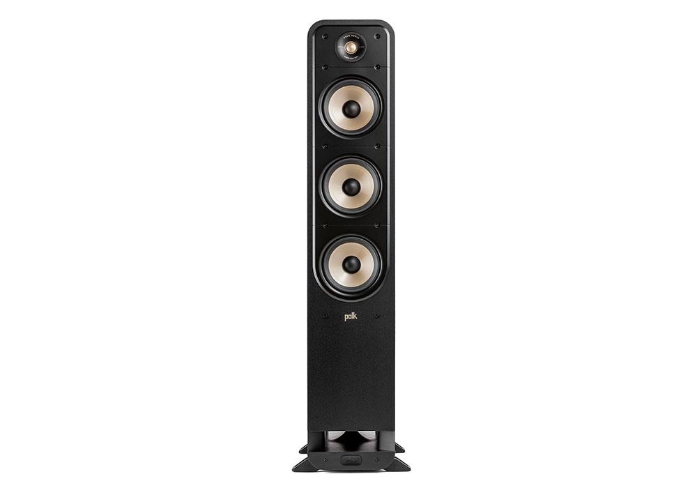 Polk Audio - ES60/BLK(ブラック・フロアスタンディングスピーカー・1本)《e》{大型DM}《e》【メーカー取寄商品・5〜7営業日でお届け可能です※メーカー休業日除く】