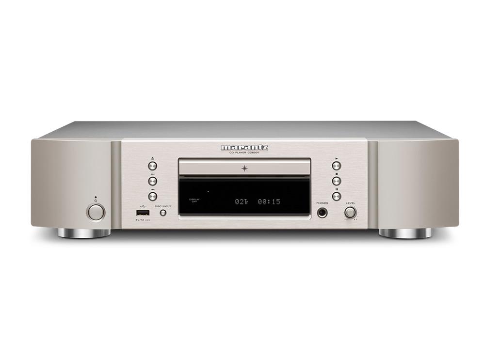 marantz - CD6007/シルバーゴールド(CD6007/FN)(CDプレーヤー)《e》【次回納期未定・ご予約受付中】