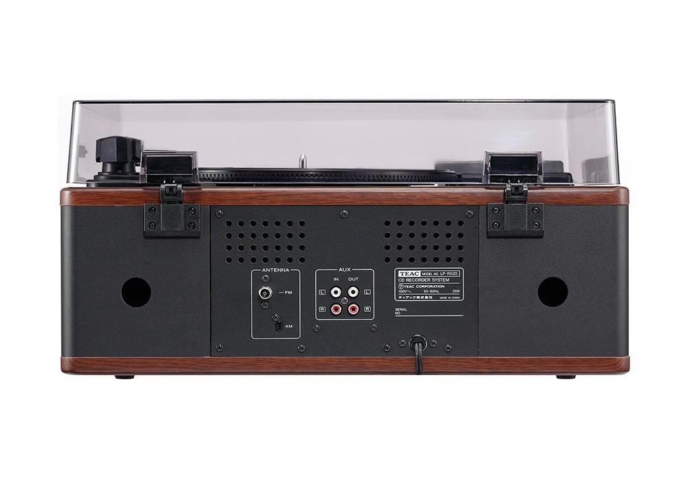 TEAC - LP-R520-WA/ウォールナット (ターンテーブル・カセット付CDレコーダー)《e》【在庫有り即納】