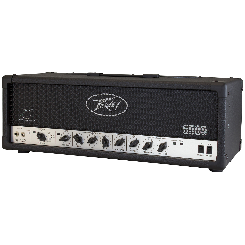 Peavey - 6505 Head 120W(ギターアンプヘッド)《e》【メーカー直送品・1〜2営業日でお届け可能です※メーカー休業日除く】