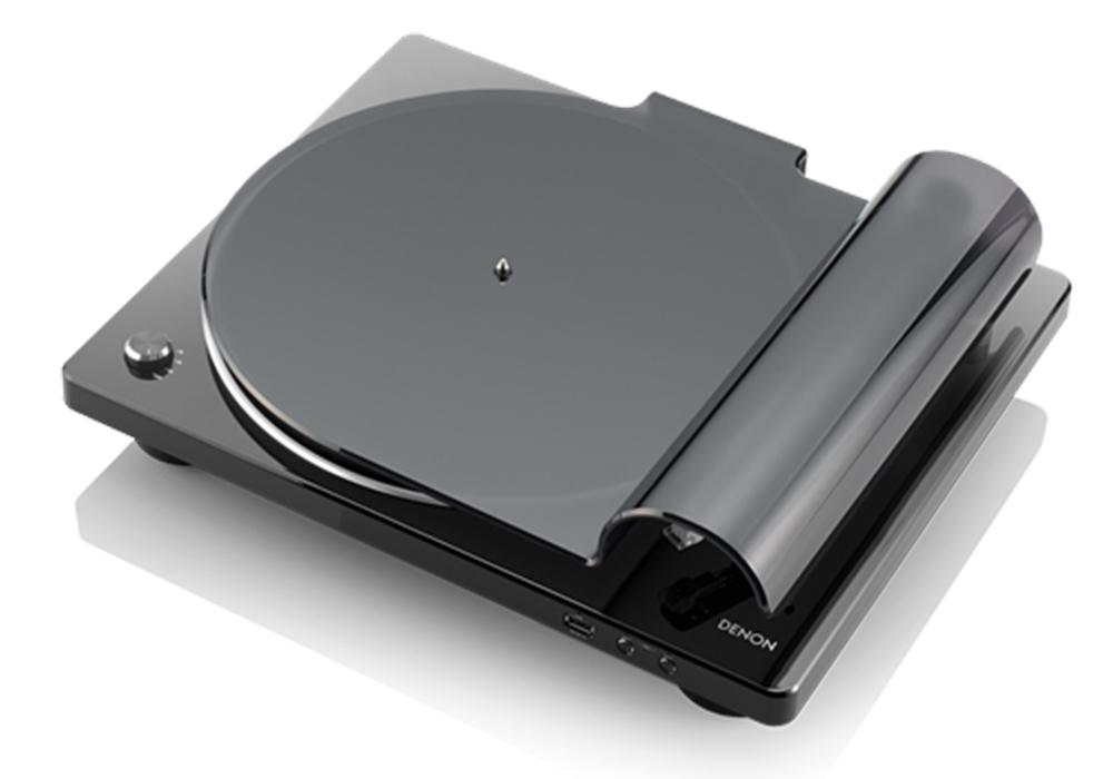 DENON - DP-450USB/ブラック(USBメモリー録音対応・ベルトドライブ方式・レコードプレーヤー)《e》【次回納期未定・ご予約受付中】