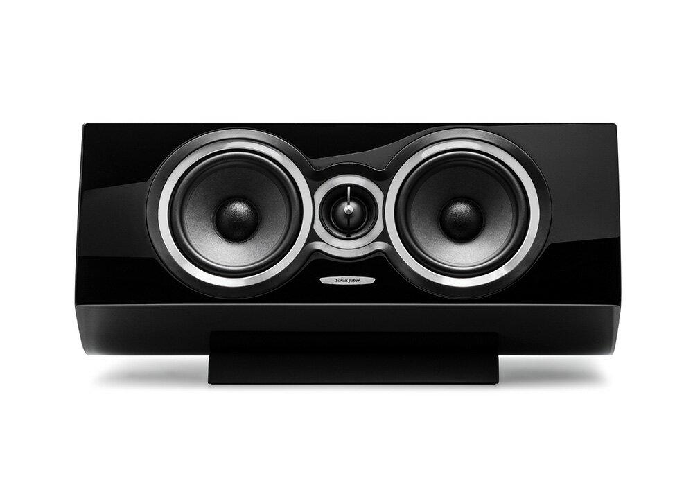 Sonus-Faber - Sonetto Centor I /ピアノ・ブラック(センタースピーカー・1本)《e》【メーカー取寄商品・納期を確認後、ご連絡いたします】