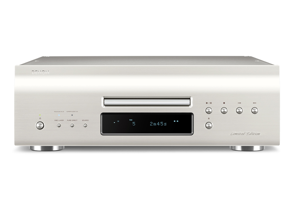 DENON - DCD-SX1 LIMITED-SP/プレミアムシルバー(USB/DAC搭載・SACD/CDプレーヤー)《e》【次回納期未定・ご予約受付中】