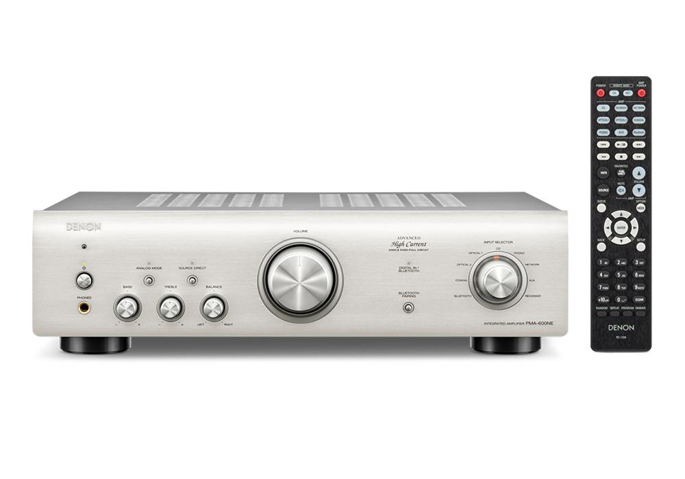 DENON - PMA-600NE-SP/プレミアムシルバー(Bluetooth&デジタル入力搭載・プリメインアンプ)《e》【在庫有り即納】