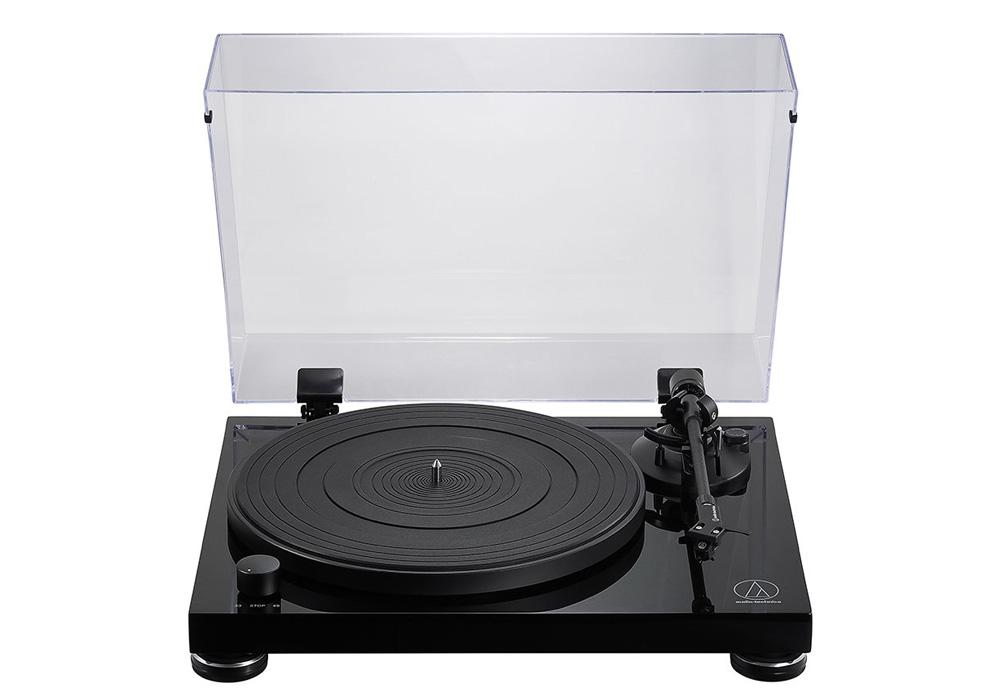 audio-technica - AT-LPW50PB(ベルトドライブ・ターンテーブル)《e》【メーカー直送品(代引不可)・2〜4営業日でお届け可能です※メーカー休業日除く】