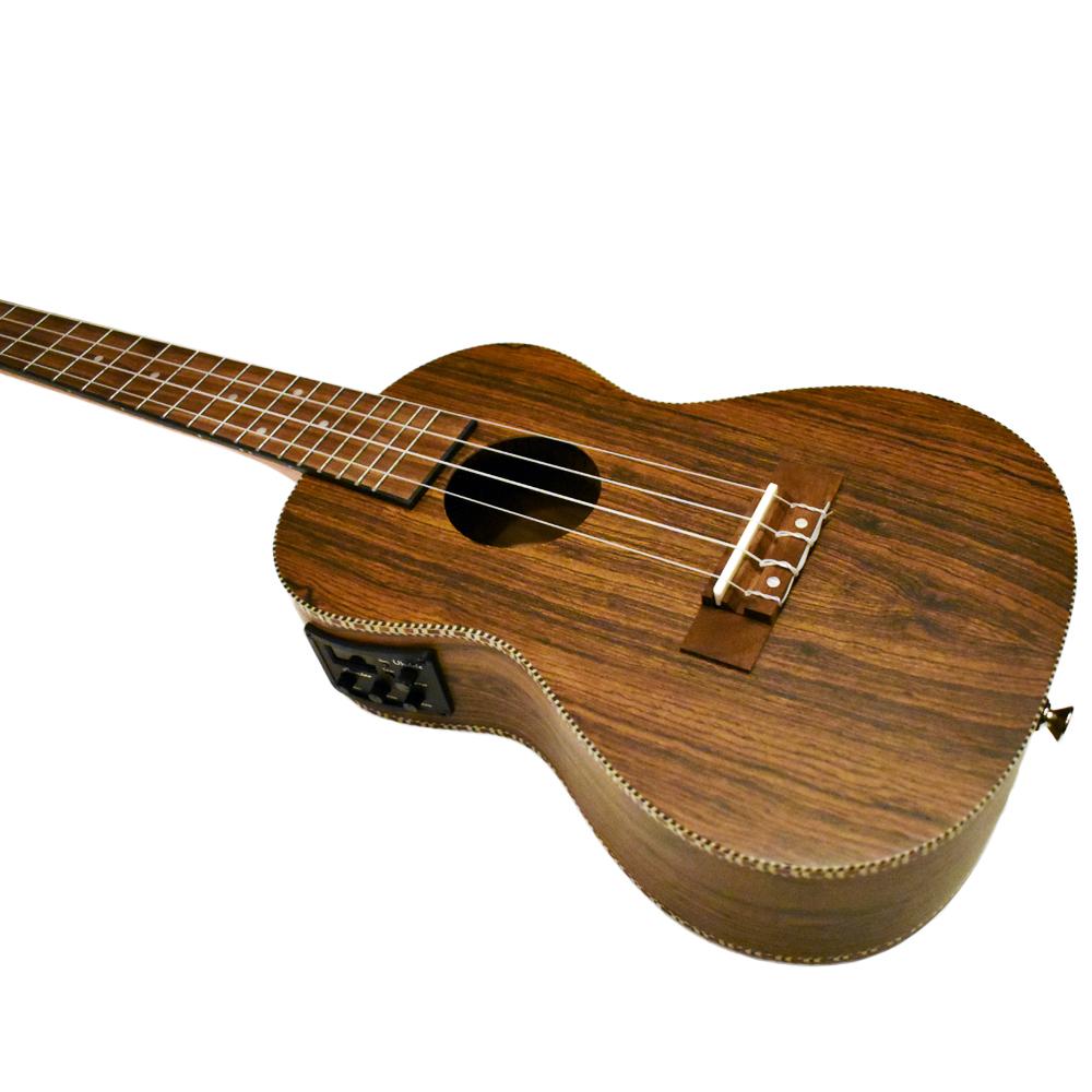 Bamboo Ukulele - Bocote コンサートウクレレ BU-23BOCQ(チューナ付きピックアップ・ソフトケース付属)《e》【メーカー直送品・1〜2営業日でお届け可能です※メーカー休業日除く】