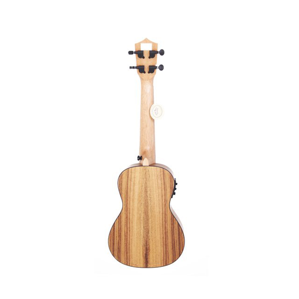 Bamboo Ukulele - Koa コンサートウクレレ BU-23CCQ(チューナ付きピックアップ・ソフトケース付属)《e》【メーカー直送品・1〜2営業日でお届け可能です※メーカー休業日除く】