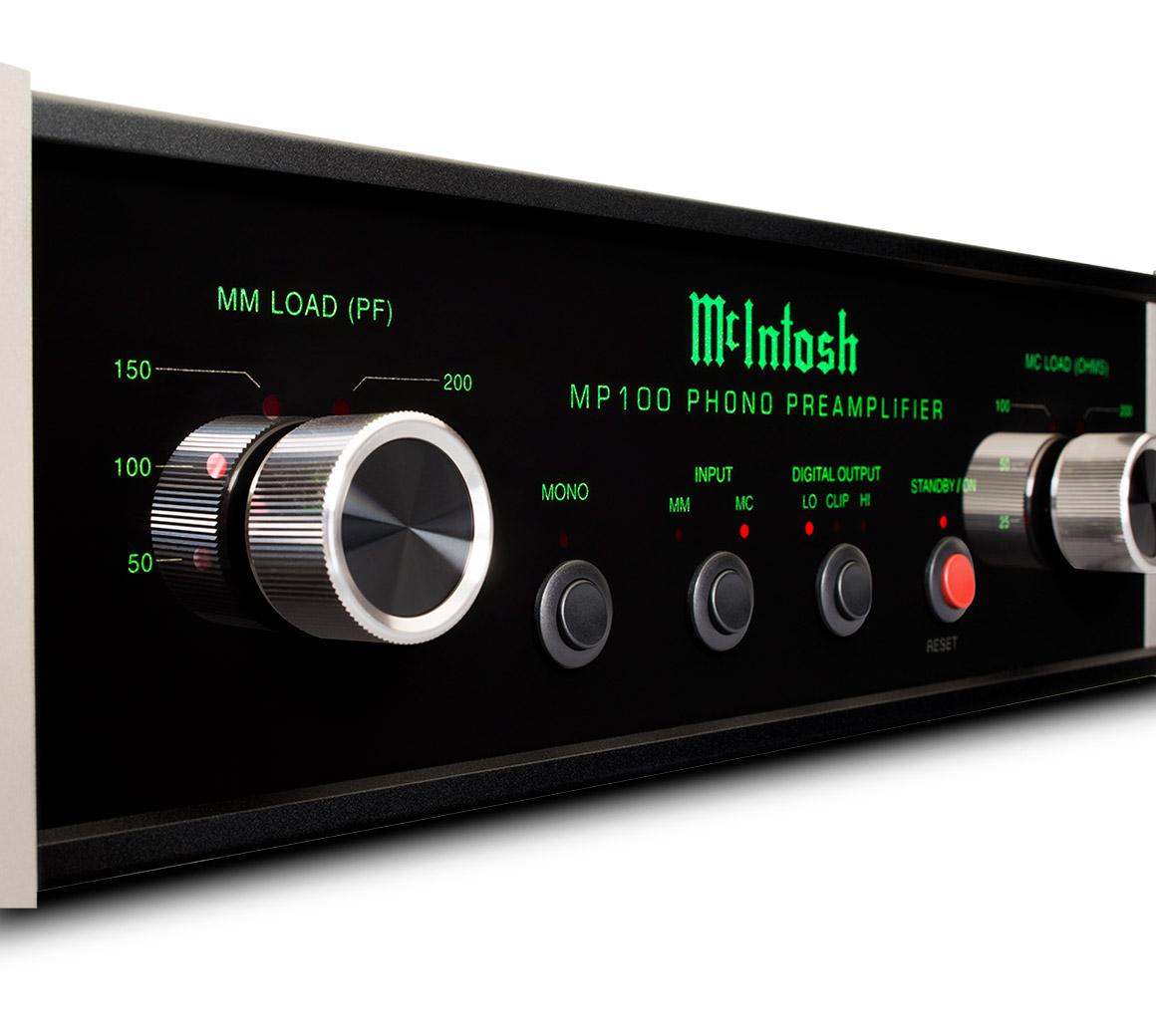 McIntosh - MP100(MC/MMフォノイコライザー)《e》【メーカー取寄商品・納期を確認後、ご連絡いたします】