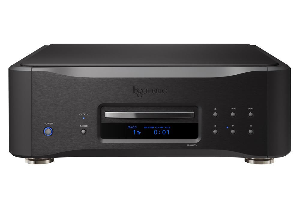 ESOTERIC - K-01XD Black Edition(SACD/CDプレーヤー)(Kシリーズ発売10周年記念モデル・全世界50台限定)《e》【在庫有り即納】