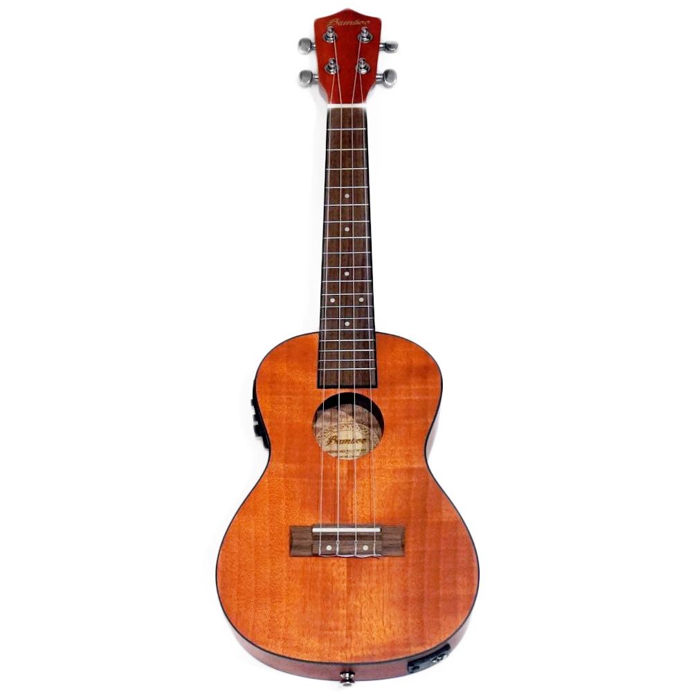 Bamboo Ukulele - Exotic Mahogany コンサートウクレレ BU-23EXQ(チューナ付きピックアップ・ソフトケース付属)《e》【メーカー直送品・1〜2営業日でお届け可能です※メーカー休業日除く】