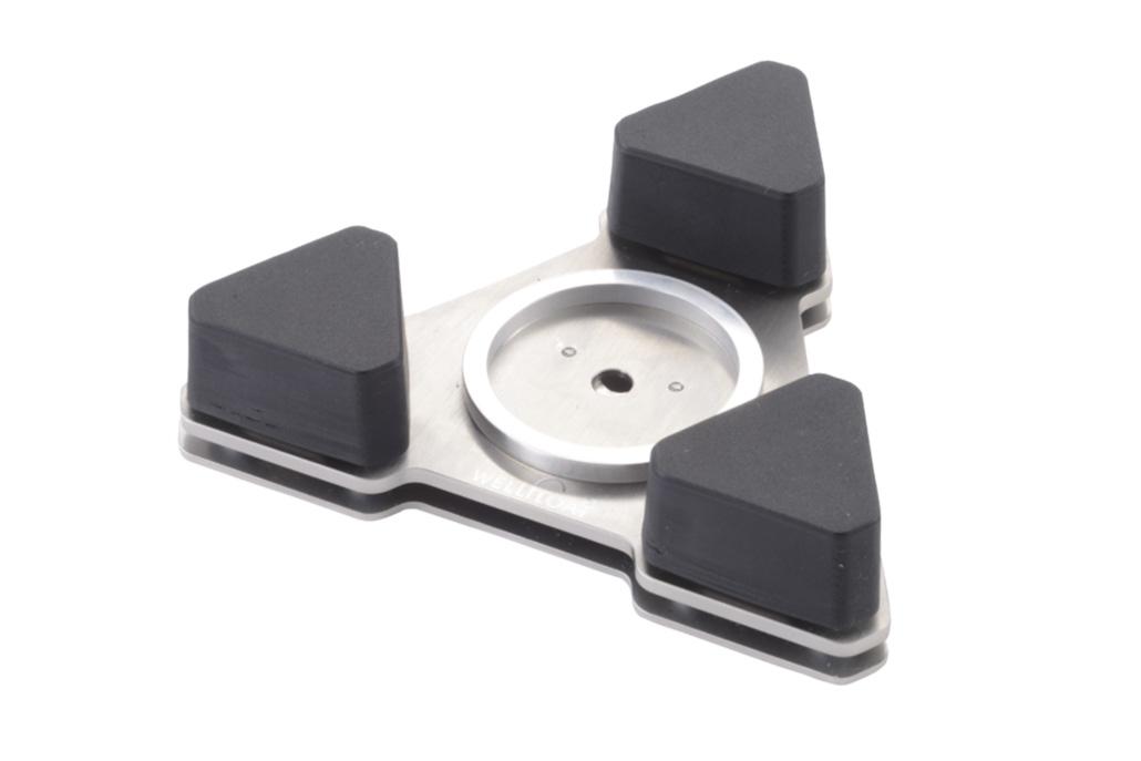 ジークレフ音響 - WELLDELTA(5mm高アルミリング付き・1個)《e》【メーカー取寄商品・3〜5営業日前後でお届け可能です※メーカー休業日除く】