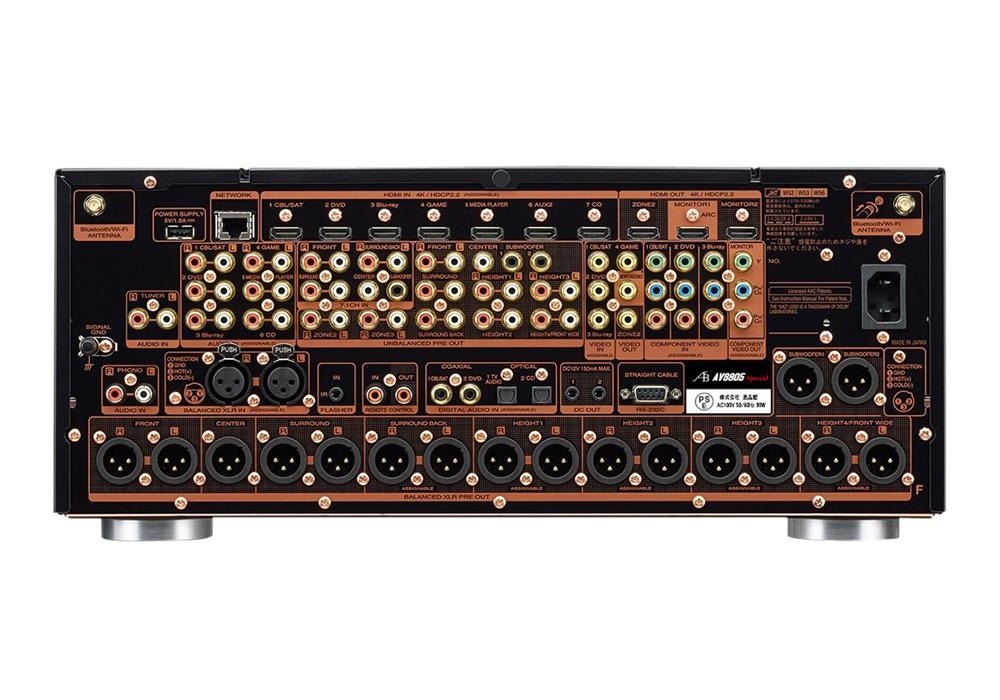 AIRBOW - AV8805 Special(13.2ch対応・AVプリアンプ)《e》