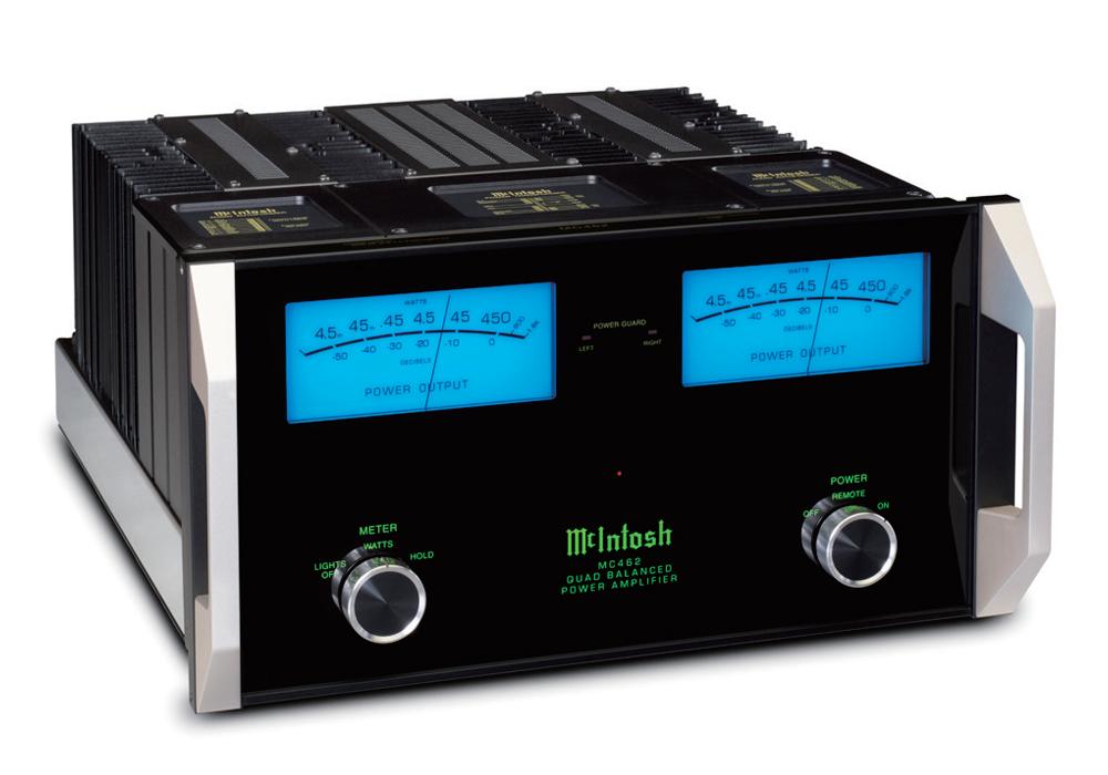 McIntosh - MC462(ステレオパワーアンプ){大型ELE}《e》【メーカー取寄商品・納期を確認後、ご連絡いたします】