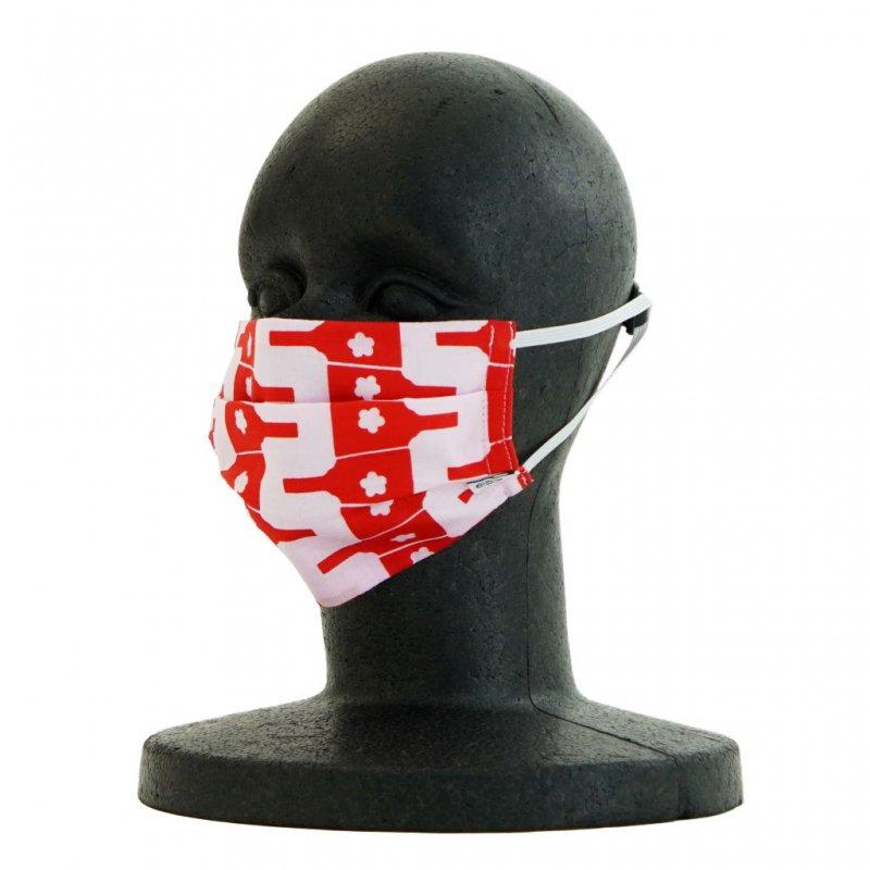 手ぬぐいマスク(二層) 「羽子板」