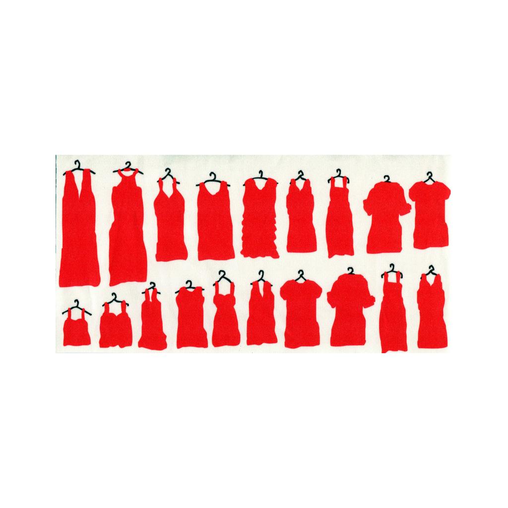 クリーニングクロス(小)「ドレス」