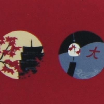 クリーニングクロス(小)「京の四季」