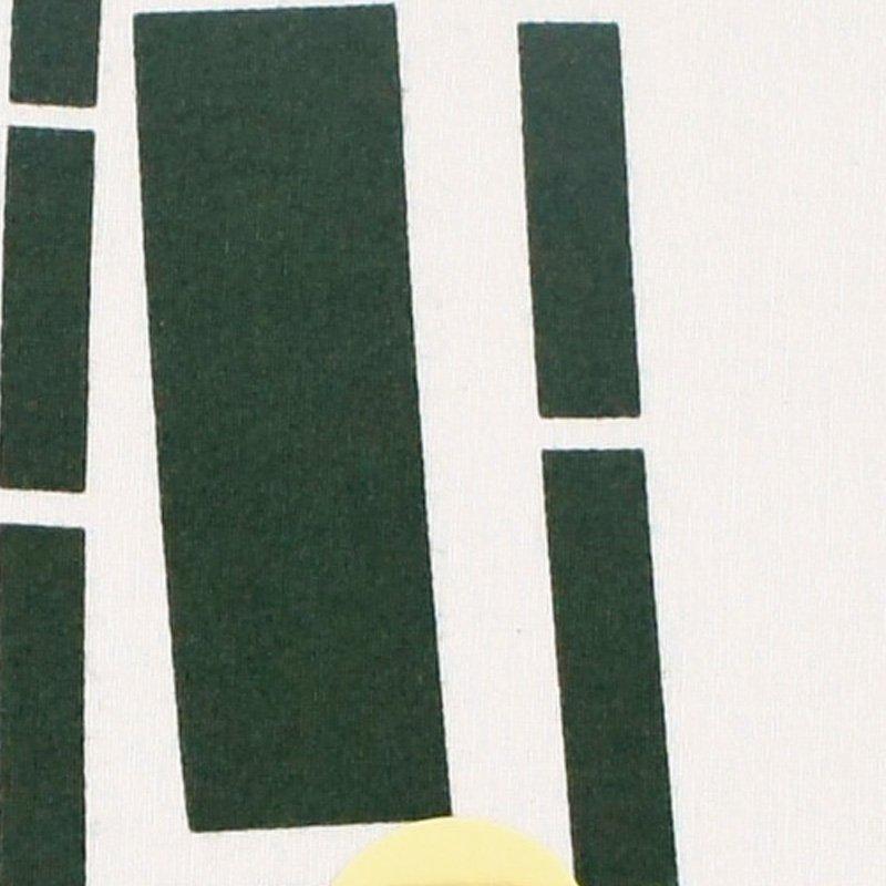 豆うちわ 並型 「竹」(グリーン)