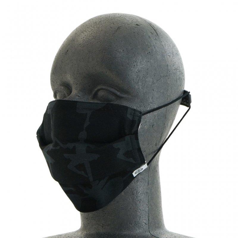 手ぬぐいマスク(三層) 「バレリーナ」(樂黑 らくろ)