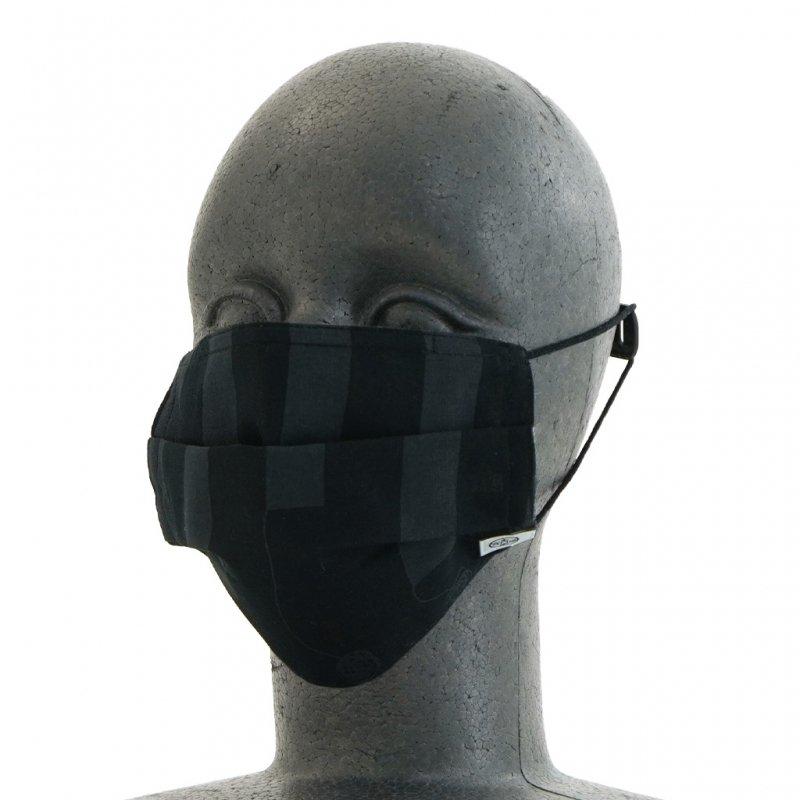 手ぬぐいマスク(三層) 「マフラー」(樂黑 らくろ)
