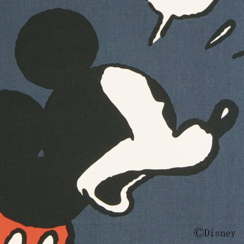 「ミッキーマウス」デザイン手ぬぐい