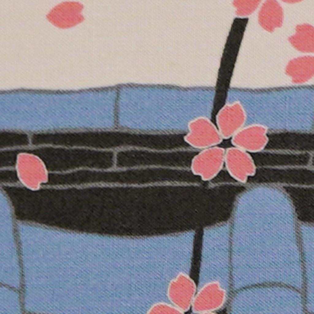 豆うちわ 並型 「桜通り」(下)