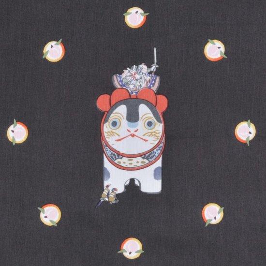 ハンカチ 「GAKUMOMO」(ブラック)