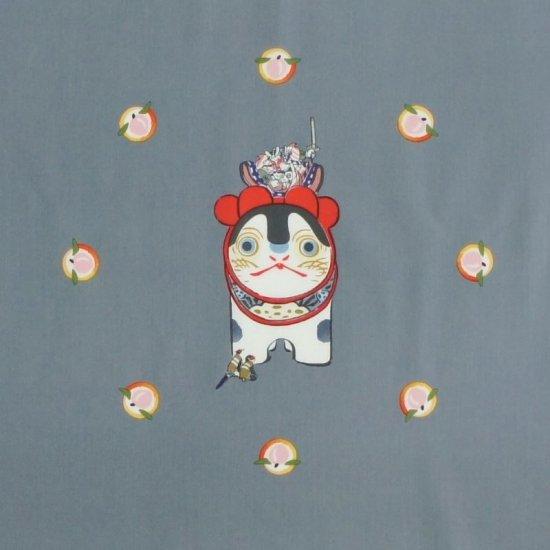 ハンカチ 「GAKUMOMO」(グレー)