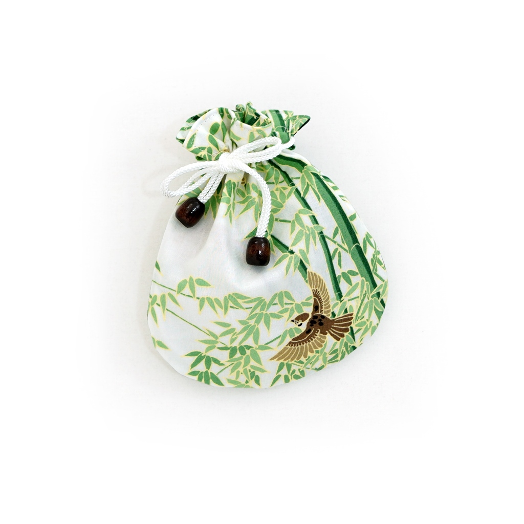 リバーシブル手拭巾着 「雛祭り」