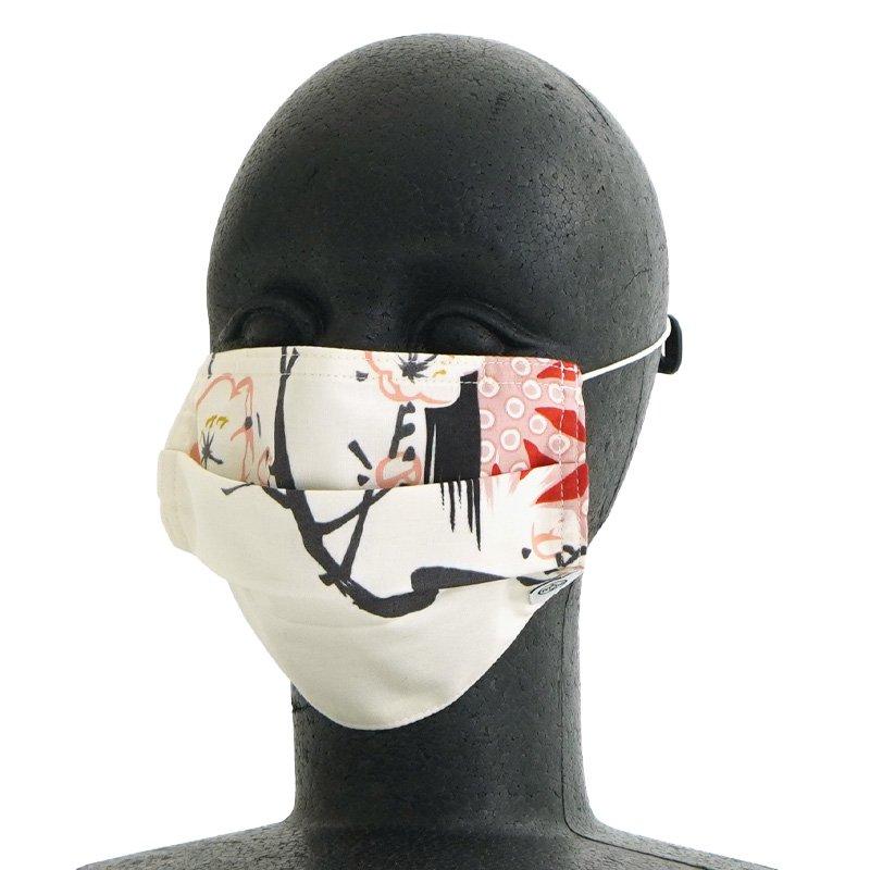 手ぬぐいマスク(三層) 「うめ」