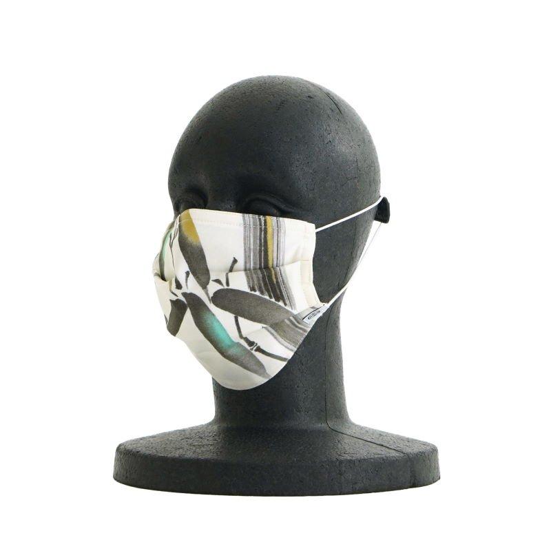 手ぬぐいマスク(三層) 「墨絵 竹」