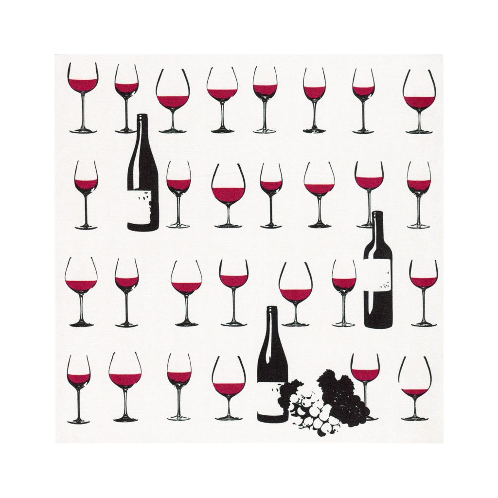 クリーニングクロス(大)「ワイン」